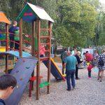 Стараниями социалистов на Рышкановке появилась новая детская площадка