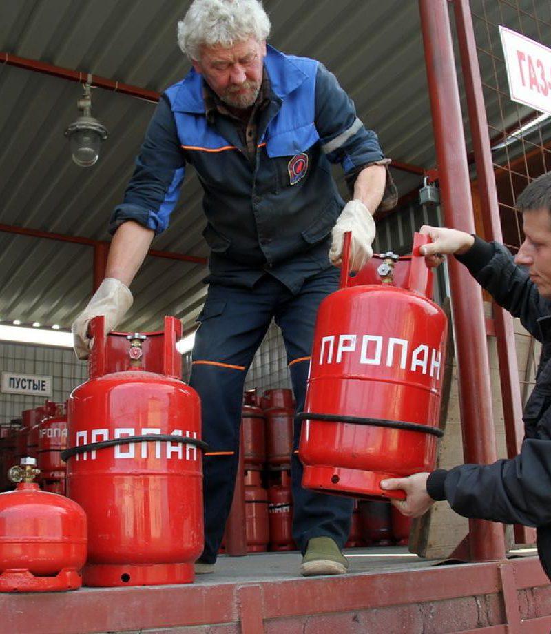 В Молдове взвинтили цены на сжиженный газ в баллонах и дрова