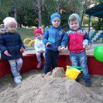 Социалисты помогли обустроить игровую зону в столичном детсаду (ФОТО)