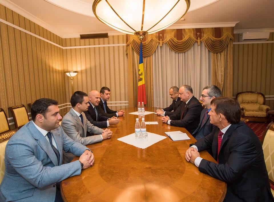 В следующем году под патронатом президента в Молдове может пройти крупное спортивное мероприятие