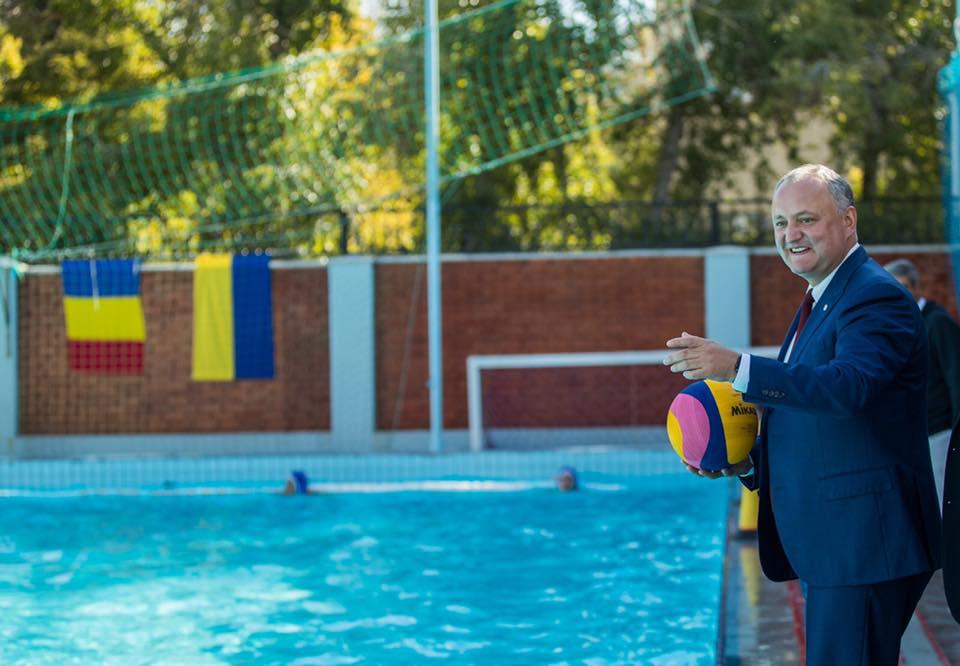Додон: Развитие физической культуры и спорта – один из моих приоритетов (ФОТО)