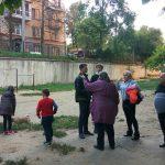 Социалисты берутся за установку ещё одной детской площадки на Ботанике (ФОТО)