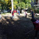 Представители ПСРМ навели порядок в ещё одном дворе на Ботанике (ФОТО)