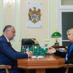Президент обсудил предстоящий визит Эрдогана в Молдову с башканом Гагаузии