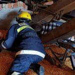 Операцию по спасению мужчины в Комрате сняли на видео