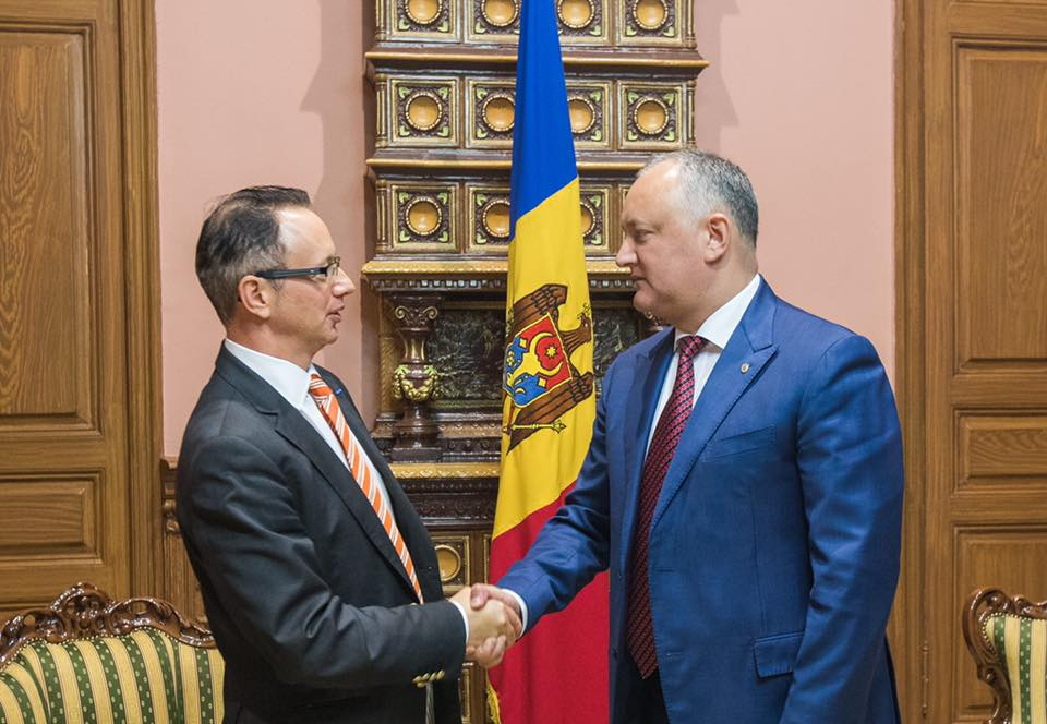 Додон выступил за более активное сотрудничество с ОБСЕ и восстановление политического процесса приднестровского урегулирования
