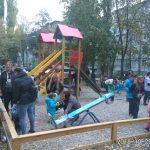 Еще одна детская площадка появилась в Кишиневе благодаря социалистам