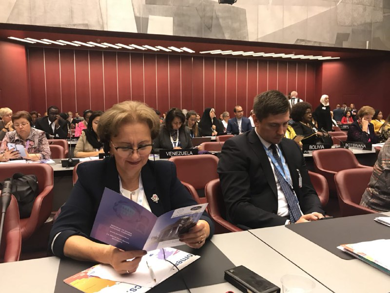 Zinaida Greceanii takes part in the Assembly of the Inter-Parliamentary Union and the Forum of Women Parliamentarians in Geneva