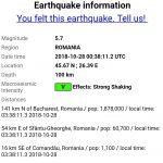 Перевод времени не без сюрпризов: в Молдове произошло сильное землетрясение