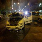 Цепная авария с участием 4 машин произошла этой ночью в столице (ВИДЕО)