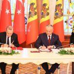 Додон: Сегодня исторический день для отношений Молдовы и Турции (ВИДЕО)