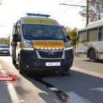 Машина скорой помощи попала в ДТП в Бельцах: госпитализирован врач (ФОТО, ВИДЕО)