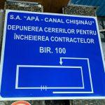 В сентябре услугами касс «Apă-Canal Chișinău» воспользовались около 10 тысяч потребителей