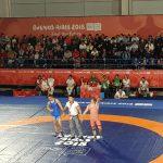 Игорь Додон поздравил борца Александрина Гуцу, завоевавшего золотую медаль на Молодежных Олимпийских играх