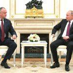 Додон - Путину: Дружбу и братство Молдовы и России никому не разрушить! (ВИДЕО)