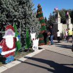Новогодние украшения в центре Кишинева в День города: Примэрия не в курсе