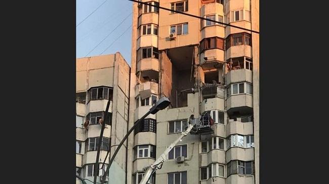 Как сейчас выглядит жилой дом, в котором вчера произошёл мощный взрыв (ФОТО, ВИДЕО)