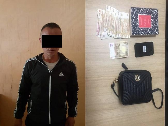 В Кишинёве вор-рецидивист напал на девушку на улице и ограбил её