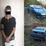 """""""Поматросил и бросил"""": подросток угнал машину на Ботанике и оставил её в другом секторе (ВИДЕО)"""