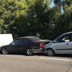На Ботанике произошла цепная авария с участием трёх машин (ФОТО)