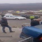 Две женщины были госпитализированы после цепной аварии в Сороках