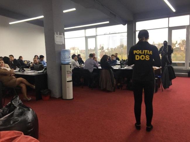 Молдавские правоохранители «накрыли» сеть Форекс-компаний, под маской которых скрывалась международная ОПГ (ФОТО)