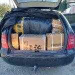 Контрабандные товары с «7 км» на 100 тысяч леев нашли таможенники в машине молдаванина (ФОТО)
