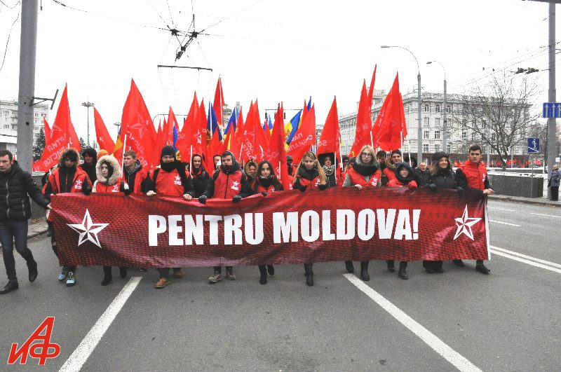 Социалисты провели масштабный митинг в Кишинёве