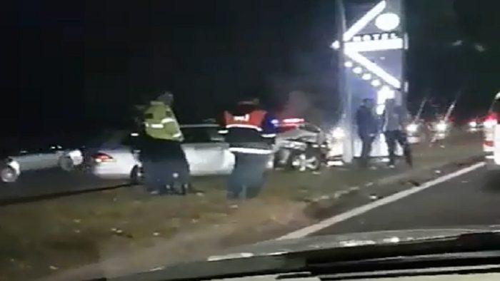 Серьёзное ДТП на Ботанике: 3 машины пострадали, женщина в больнице