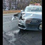 Авария на Ботанике: столкнулись два автомобиля (ФОТО)