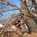 Страшная авария у Страшен: столкнулись 3 машины (ФОТО)