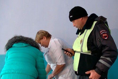 В Приднестровье школьница попала под машину на зебре