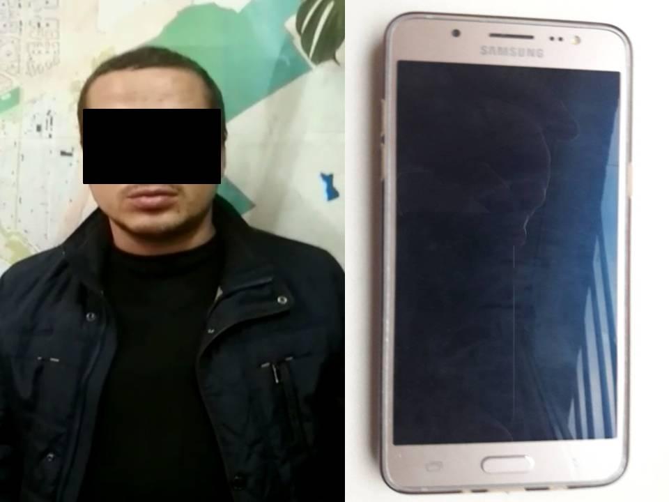 Вор-карманник украл телефон в троллейбусе №22