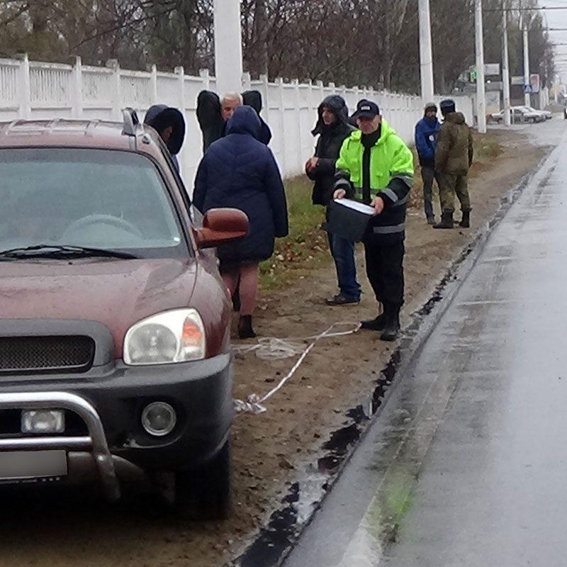 Из-за непогоды в Приднестровье вновь произошло ДТП (ФОТО)