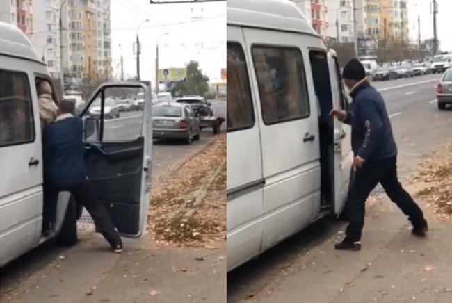 Полиция разыскивает водителя битком набитой маршрутки, засветившейся вчера в соцсетях
