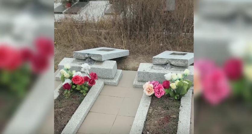 Вандалы разгромили кладбище в Кагуле: полиция ищет подозреваемых
