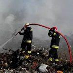 Жители Резины задыхаются от дыма с местной свалки