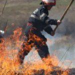 Пожар на Ботанике: загорелась свалка