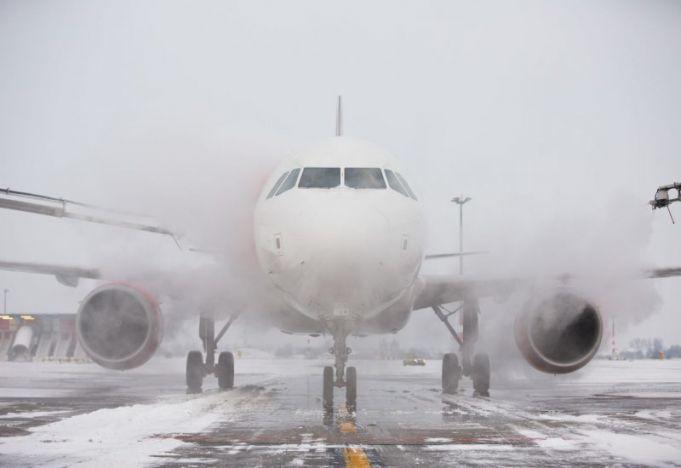 Густой туман внес коррективы в работу аэропорта: задерживаются вылеты и прилеты