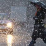 В Молдове объявлены неблагоприятные погодные условия: на дорогах будет скользко