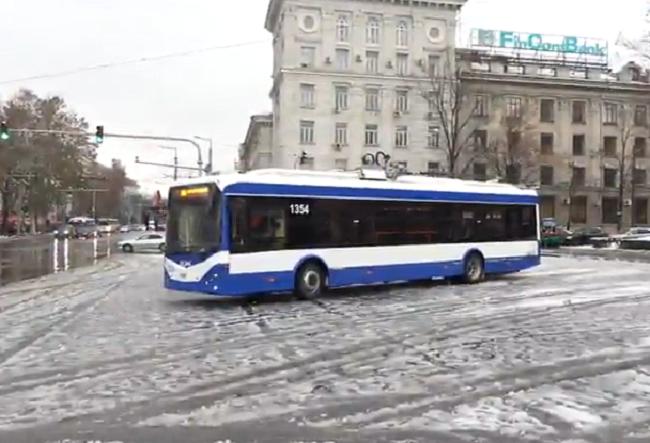 Сегодня запустили новый троллейбусный маршрут до Трушен