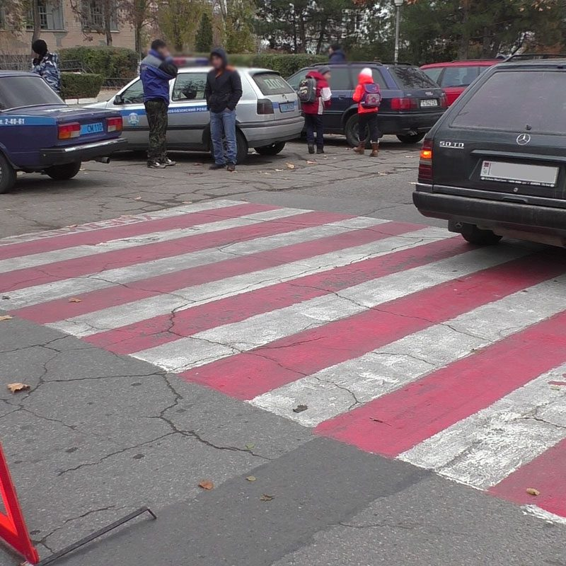 В Днестровске первоклассник был сбит иномаркой на зебре (ФОТО)