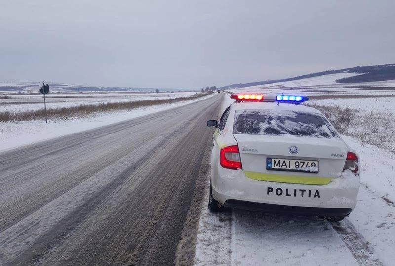 Первый снег в Молдове: как обстоит ситуация на дорогах страны к этому часу (ФОТО)