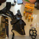 Группа торговцев наркотиками с большим арсеналом оружия задержана в Кагуле (ФОТО)