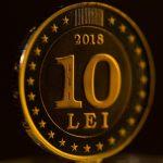 В честь 25-летия молдавского лея НБМ пустил в оборот памятную монету в 10 леев (ФОТО, ВИДЕО)