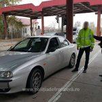 Водитель из Молдовы пытался пересечь границу на изъятом в Германии автомобиле (ФОТО)