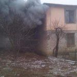 (ОБНОВЛЕНО) В Леова горит жилой дом (ФОТО)