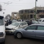 Цепная авария на Ботанике: столкнулись пять машин (ФОТО)