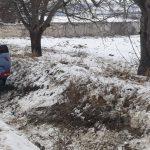 Авария при въезде в Ватру: машину отбросило в кювет