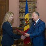 Прославленная молдавская спортсменка получила Почетную грамоту президента (ФОТО)